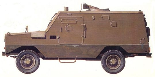 Cadillac Gage Commando Ranger Drawing Usa