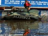 Mexican Army Navy personnel stand a top to amphibian armoured vehicles BTR-60 after it broke down on a flooded street in Villahermosa November 3, 2007. Thousands of people perched on roofs in southern Mexico on Saturday, desperate to be evacuated from flooding caused by heavy rains that has left most of Tabasco state under water and 800,000 people homeless.