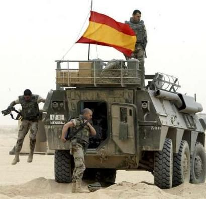 Spain Spanish Army ranks land ground forces field combat uniforms ...