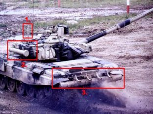 T-90 char de combat principal fiche technique description spécifications information photos images renseignements identification Russie industrie défense armée technologie militaire russe