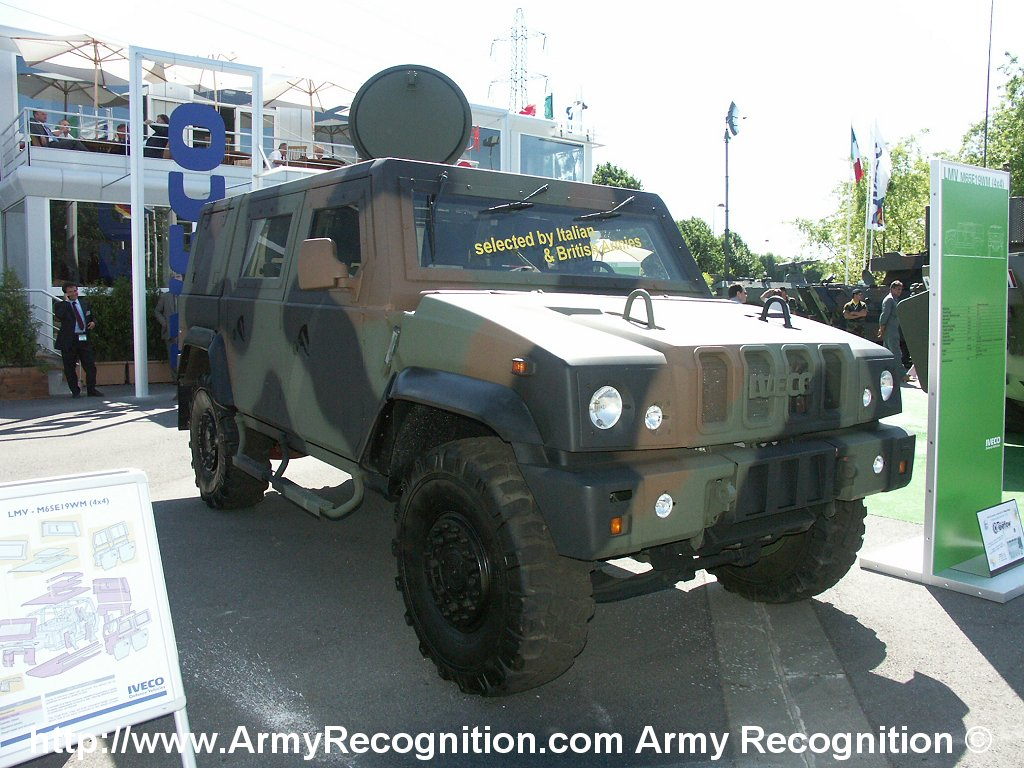 iveco lmv light multirole vehicle