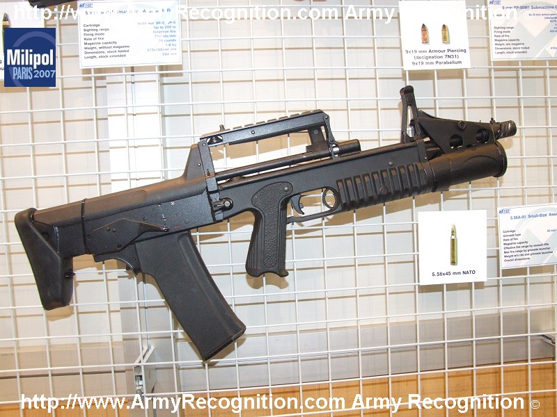 5 56A 91 Small size assault rifle KBP Milipol 2007 001
