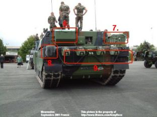 Leclerc main battle tank technical data sheet information description intelligence specifications identification pictures photos images France French Army heavy armoured vehicle char de combat principal fiche technique armée française