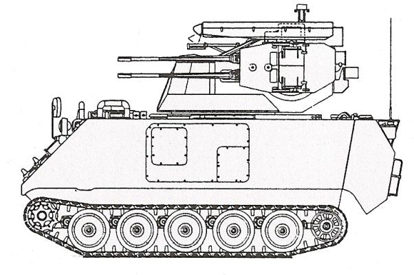 M113 Line Drawing re M113 Apc