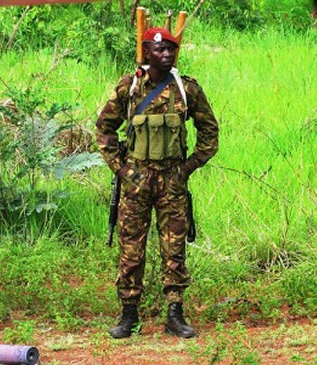 Central African Republic Army Defence Force Ranks Military