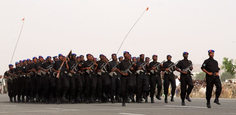 Djibouti Army Ranks Land Ground Forces Combat Field
