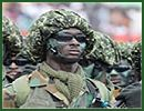 Ghana Ghanaian Army ranks military combat field uniforms dress grades uniformes combat armee Ghana Ghanéenne