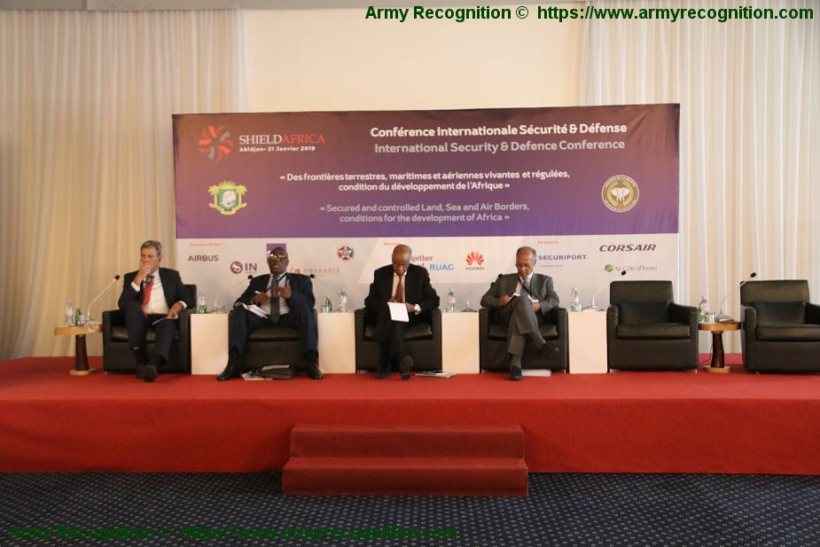 ShieldAfrica 2019 Today opening of conference on Security in Africa 925 001