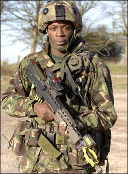 Nigeria Nigerian Army ranks land ground forces combat field uniforms