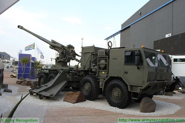 T5 52 T5 45 155mm Wheeled Self Propelled Howitzer