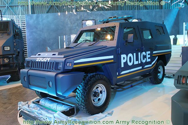Marauder Patrol five-door 'SUV' version which can carry nine people.
