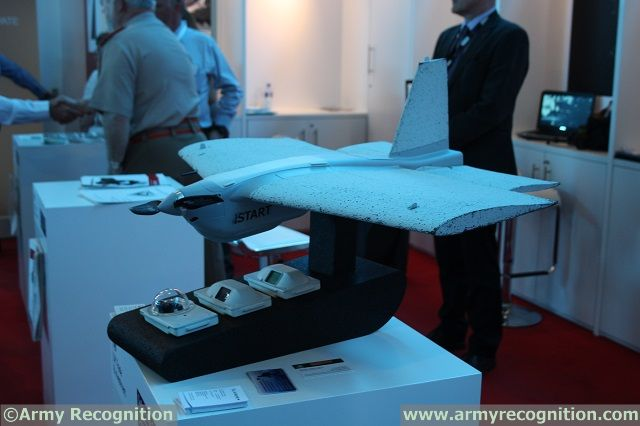 At AAD 2014, British Company Blue Bear Systems Research showcases its one man portable UAV, the IStart. The iStart system is all about getting the right sensors to the right place at the right time.