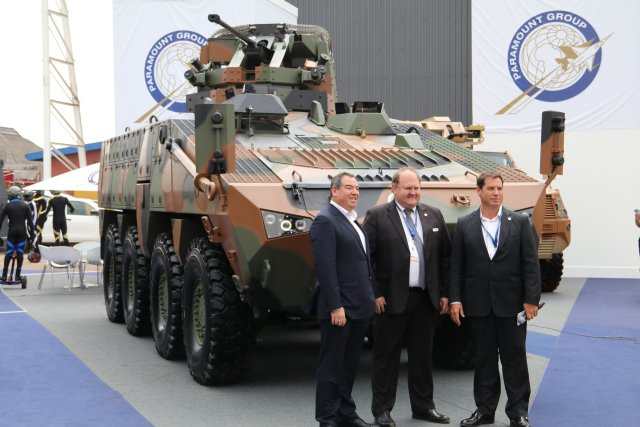 Paramount Group unveils the Mbombe 8 the newest vehicle of the Mbombe ICV family at AAD 2016 640 001