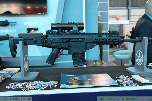 ARX200 Beretta 7-62mm assault rifle at AAD 2016 South Africa 001