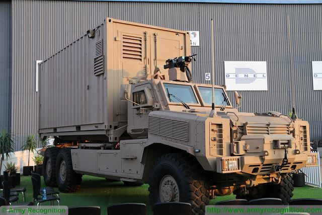 Denel Vehicle Systems unveils new Africa Truck Demonstrator at AAD 2016 defense exhibition 640 001