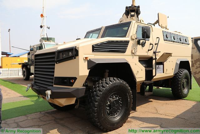 LM14 LMT 4x4 APC armoured personnel carrier AAD 2016 defense exhibition South Africa 001