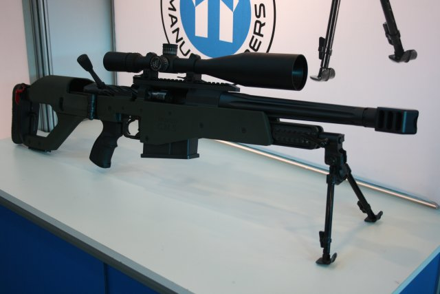 Truvelo Manufacturers unveils its CMS 20 x 42 Anti Material Rifle at AAD 2016 640 001
