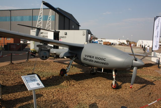 Ultimate Unmanned Systems unveils the Viper 1000C Unmanned Aerial System at AAD 2016 640 001