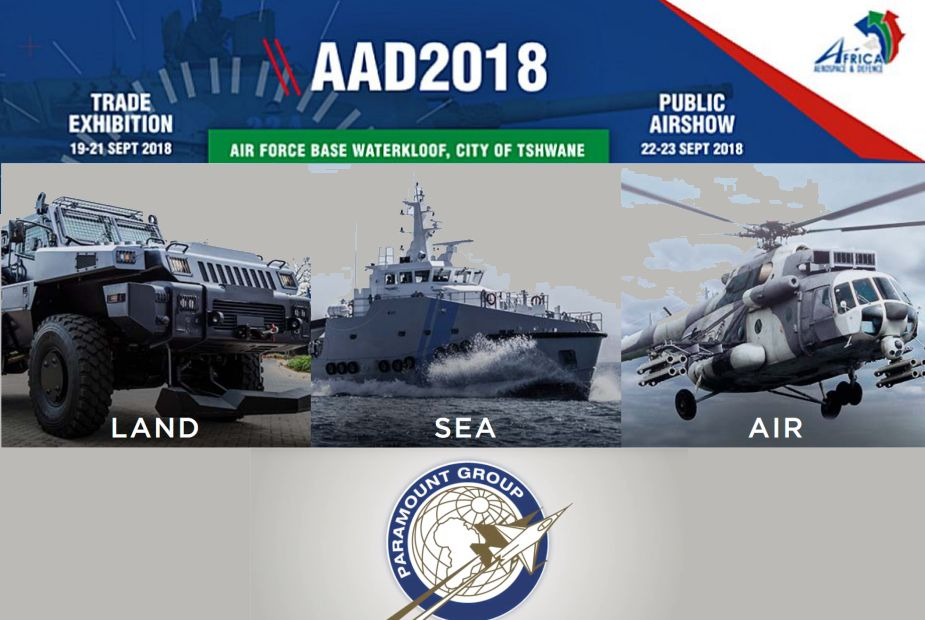 Paramount Group to present latest innovations of defense products AAD 2018 defense exhibition 925 001