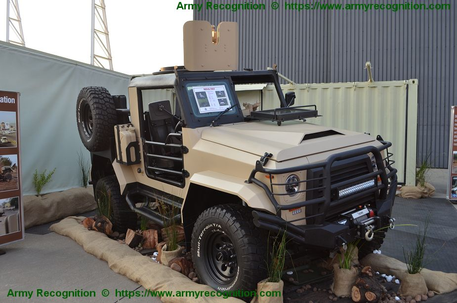 Company ICP presents its REVA FAV Fast Attack Vehicle for Special Forces AAD 2018 South Africa 925 001