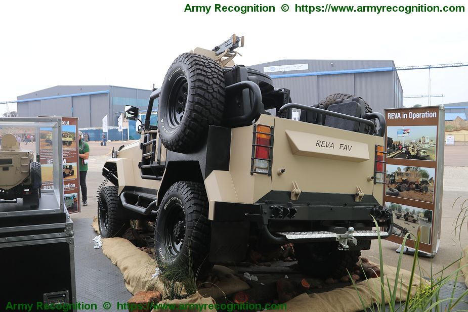 Company ICP presents its REVA FAV Fast Attack Vehicle for Special Forces AAD 2018 South Africa 925 002