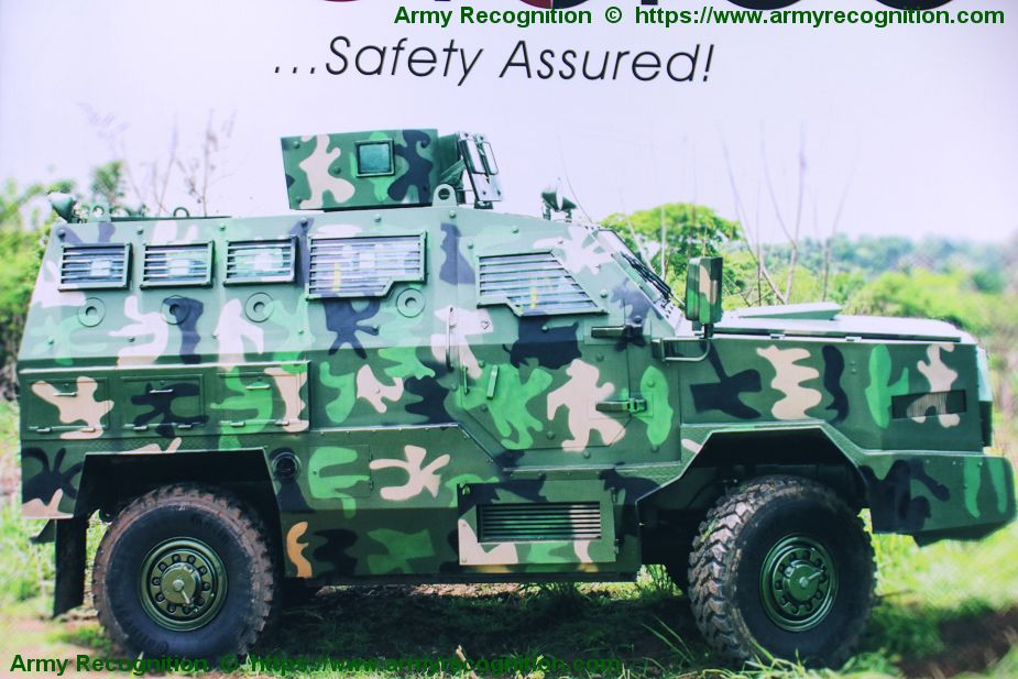 MRAP 4x4 vehicle ARA manufactured by Proforce from Nigeria 925 001