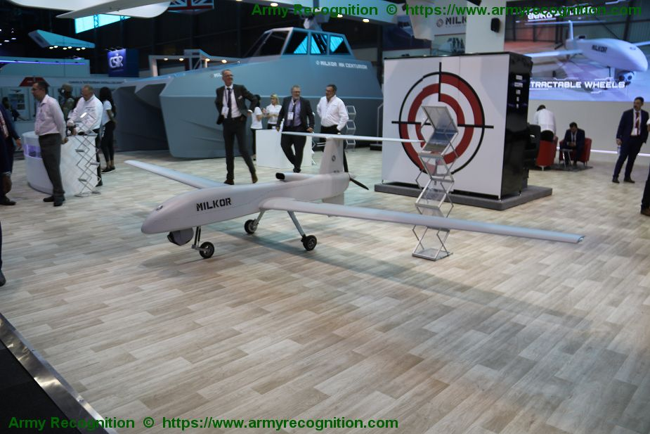 Milkor presents latest production of UAS including the MA 80 AAD 2018 South Africa 925 001