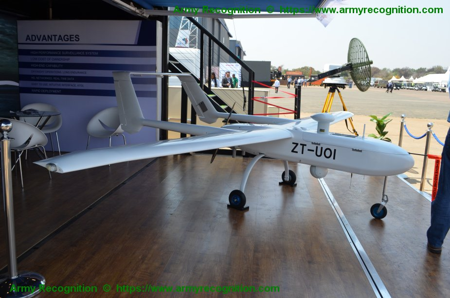 The first full unmanned aerial system ASTUS by Tellumat at AAD 2018