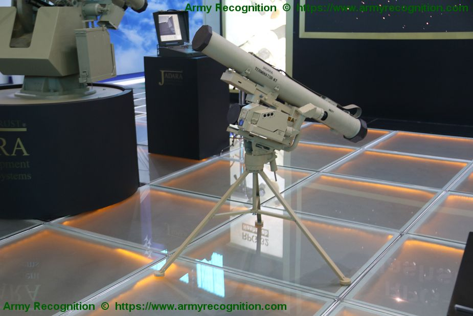 World Premiere new Jadara Terminator AT Anti Tank Guided Missile AAD 2018 South Africa 925 001