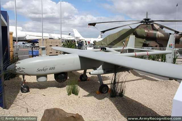 Seeker 400 UAS UAV drone unmanned aerial system Denel South africa military equipment 640 001