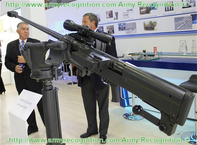 NTW-20 20 x 110 20 mm anti-materiel rifle technical data sheet specifications description information intelligence pictures photos images identification South Africa African Denel Mechem