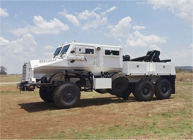Casspir Eland 4x4 armoured recovery vehicle South Africa African Denel Defense industry 640 001