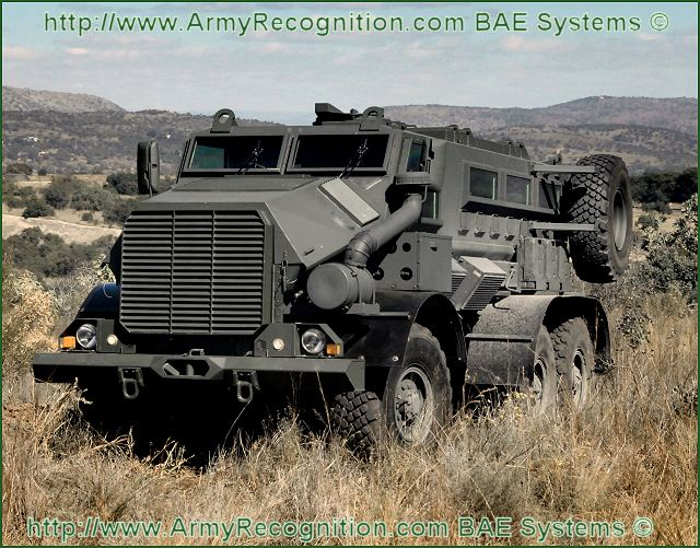 Casspir Mk 6 VI RG Protector mine protected personnel carrier vehicle technical data sheet specifications description information intelligence pictures photos images identification South Africa African defence industry military technology BAE Systems