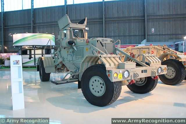 The Turkish army has take delivery of four South African-made Husky vehicle-mounted mine detectors (VMMDs), officials here said. Husky is a mine-removal system developed by Dorbyl Rolling Stock Division of East Rand, Gauteng, South Africa.