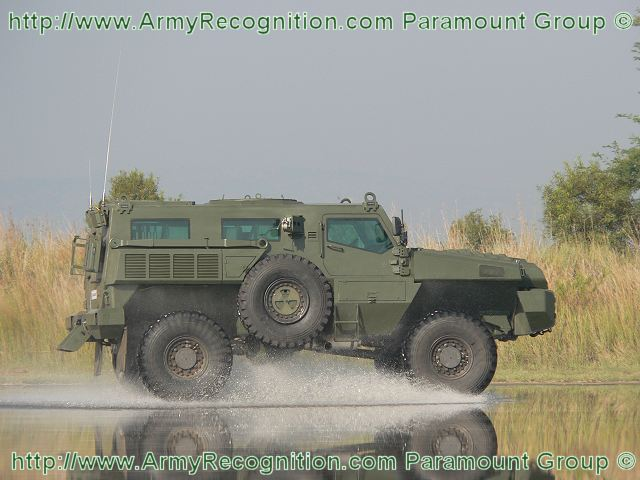 Azerbaijan orders 60 mine protected vehicles Marauder / Matador from