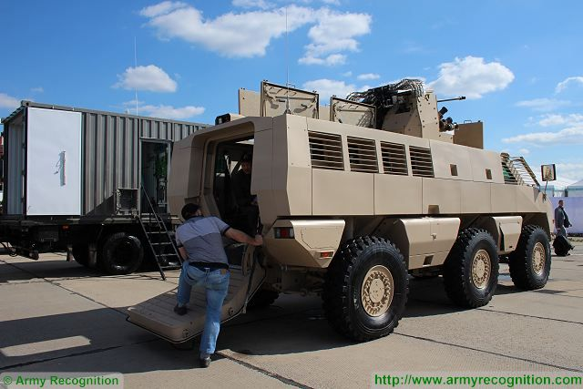 Mbombe 6x6 Wheeled Armored Fighting Vehicle Technical Data