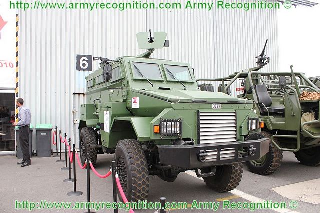 OTT Technologies (Pty) Ltd is introducing the Puma M36 Mk5 Medium Mine Protected Vehicle or MRAP during AAD 2012. The M36 traces its origins back to the OTT Puma M26 MPV and even further back to the venerable South African Mamba MPV's.