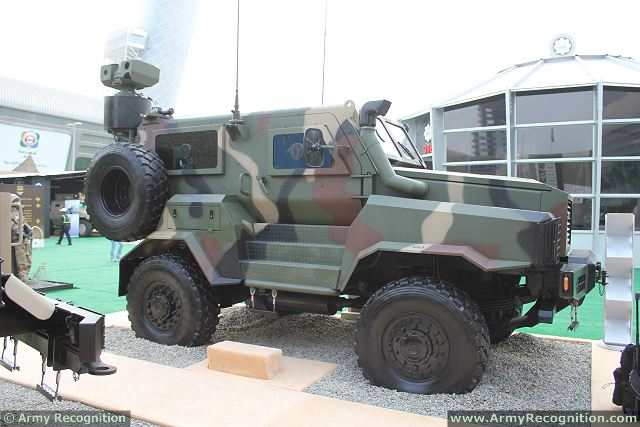 South African Company Icp Has Sold 12 Reva 4x4 Mrap