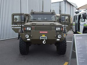 RG32M RG-32M light wheeled armoured vehicle technical data sheet description information intelligence pictures photos images identification South Africa African BAE Systems