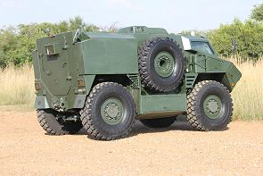RG35 4x4 RPU mine protected tactical armoured vehicle technical data sheet specifications description information intelligence pictures photos images identification South Africa African defence industry military technology BAE Systems