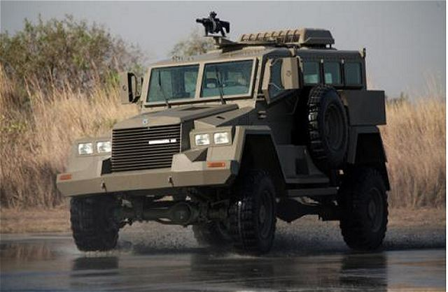 South African Military Vehicles