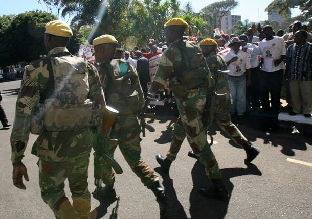 Zimbabwe Army ranks land ground forces combat field ...