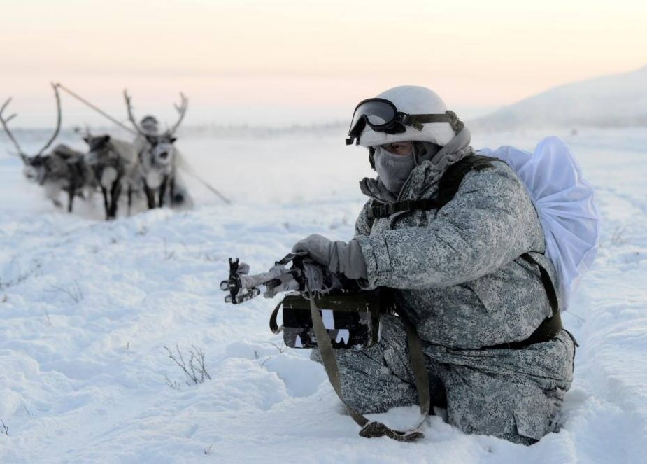 Russia NATO build up Arctic troops