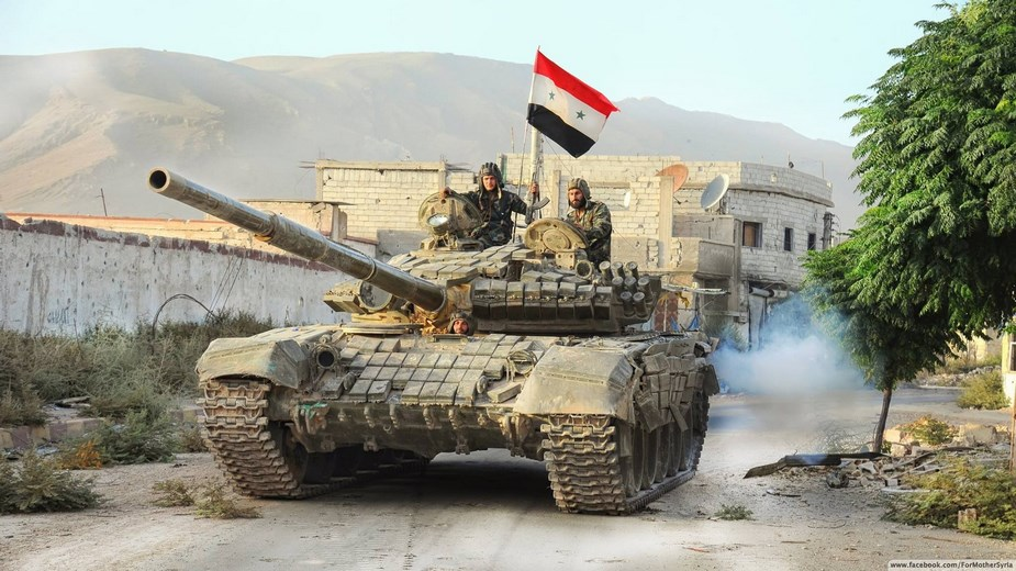 Soviet main battle tanks in Syrian conflict