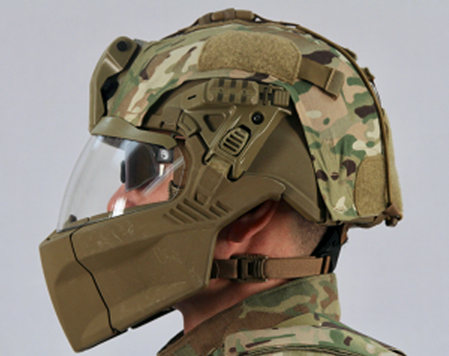 82nd Airborne testing US Army new body armor and helmet 3