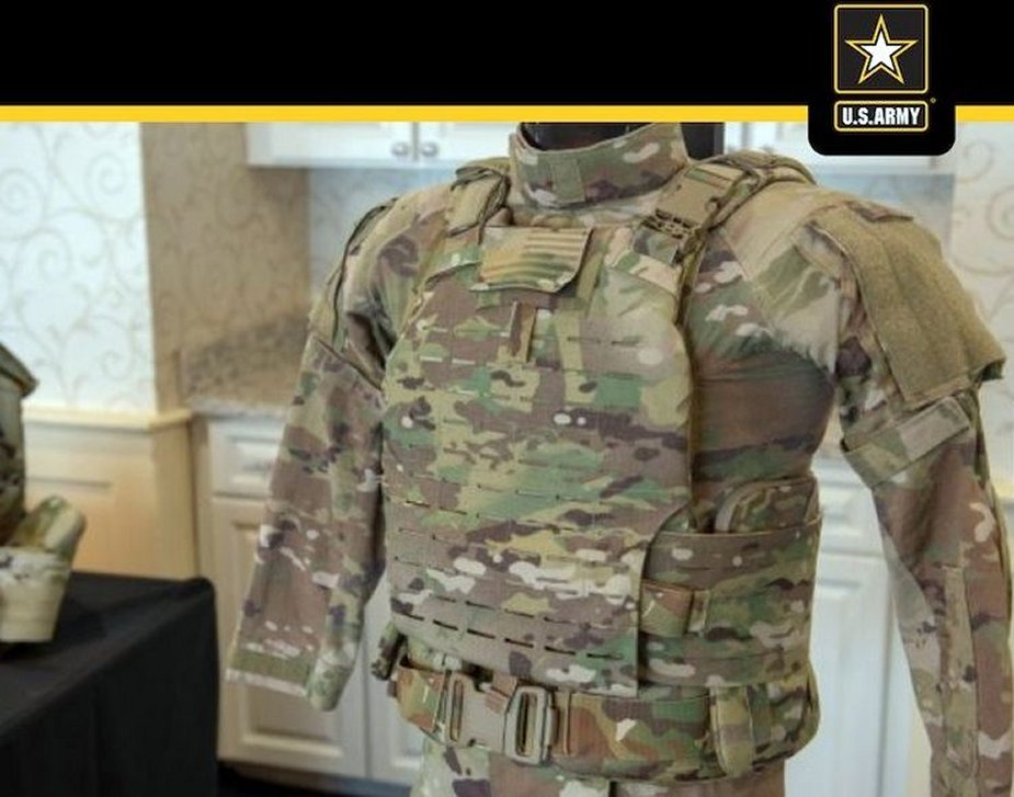 82nd Airborne testing US Army new body armor and helmet