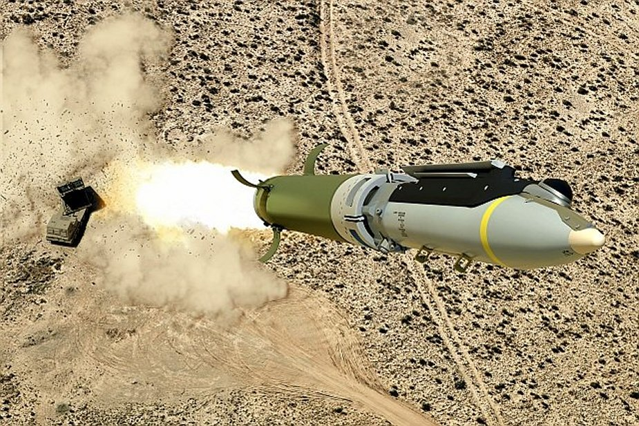 Boeing Saab test small diameter bomb as long range artillery projectile