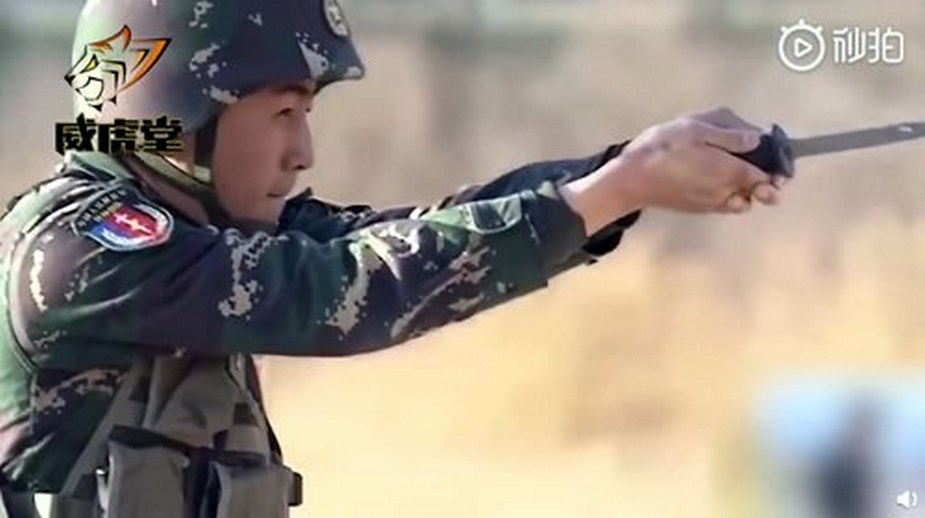 Chinese army trains super soldiers with futuristic weapons 3