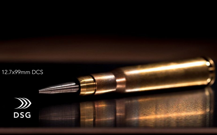 DSG Technology unveils CAV X Supercavitating Ammunition for submerged Special Operation Forces 12.7x99mm 1