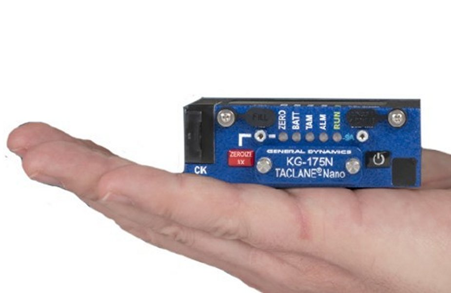 General Dynamics new TACLANE Nano Type 1 Network Encryptor receives NSA certification 1